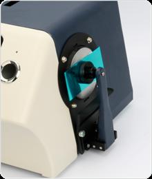 台式分光测色仪测量塑胶样品